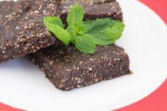 Raw Mint Chocolate Brownie