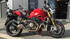 2014 Ducati Monster 1200S Just arrived :)