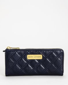 Marc Jacobs 'The Lex' Wallet- Made in Italy at Modnique.com  https://www.modnique.com/product/Marc-Jacobs-Handbags-Wallets/10868/Marc-Jacobs-The-Lex-Wallet-Made-in-Italy/01553155/color/navy/size/seeac/gseeac
