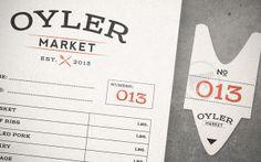 Oyler Market Barbecue & Brewery by Alex Navarro, via Behance