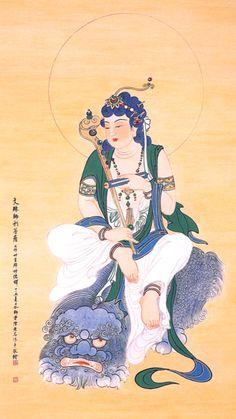 文殊菩薩 (Manjushri)