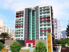 Erstklassige Wohnkomplex in Strandnahe und Zentraler Lage!Luxuswohnungen ab 48.000 EURO im Angebot.Der Komplex befindet sich nur 250 Meter zum Strand und 150 Meter zur einkaufsmöglichkeiten. Der Komplex bietet seinem Residenten ein sehr komfortables Wohnqualität und jede menge Freizeitaktivitäten.Die Wohnungen verfügen 75 m2 Wohnfläche mit ein Wohnzimmer, moderne Küche, ein Schlafzimmer, Bad und Balkon. Ab dem 5. Etagen haben die Einheiten ein tollen Blick auf das Meer, Stadt und…