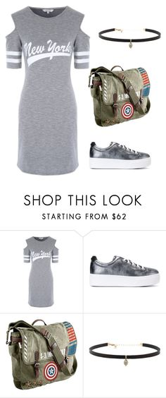 """""""Hot"""" by angel28290826 ❤ liked on Polyvore featuring Kenzo, Marvel and Carbon & Hyde"""