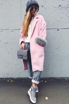 Модные луки зимы 2017-2018: фото лучших зимних образов, стильная одежда для девушек