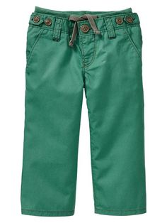 Toddlers Gap | Flat-front twill pants