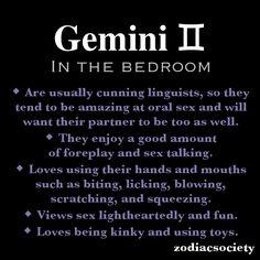 Gemini in the bedroom.