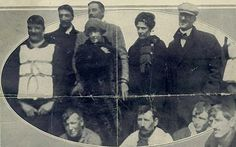 Images of Titanic passengers | First class passenger's account of Titanic disaster finally published