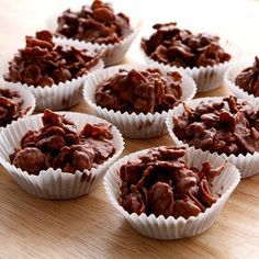 Chocolate Cornflake Cakes are a childrens' party classic, so easy to make and just as delicious to eat! Made using  Juvela Gluten Free Corn Flakes and melted chocolate.