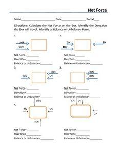 balanced and unbalanced forces foldable worksheet for interactive notebook formative assessment. Black Bedroom Furniture Sets. Home Design Ideas