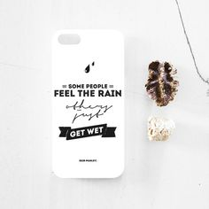 Bob Marley quote iPhone 5 case iphone case by MessProject, 5s Cases, Iphone Cases, Bob Marley Quotes, Getting Wet, Some People, Motto, Motivational, Typography, Cards Against Humanity