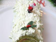 Bûche de Noël salée au saumon fumé Origami Santa Claus, Christmas Time, Mousse, Entrees, Biscuits, Buffet, Dairy, Appetizers, Cheese