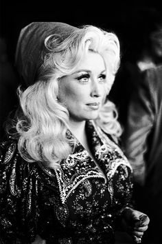 A young, beautiful Miss Dolly Parton, the heart of country music. Just another sweet southern belle, 1960s 1970s