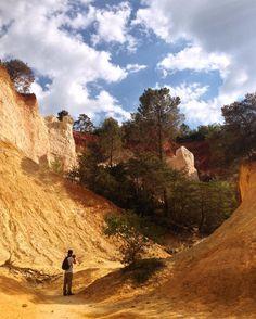 Belle journée à la découverte du Colorado Provençal. De quoi se sentir en plein désert de l'ouest américain non?!