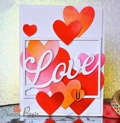 artful notions: PTI January Blog Hop: Hearts! & The Card Concept Challenge #27 Love