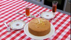 Make Mary Berry's own Lemon Madeira Cake, which is a signature challenge in Season 3 of The Great British Baking Show on PBS Food.