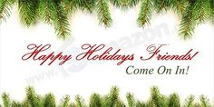 Christmas signs and banners: Signazon offers best Christmas sale banner sign templates for Christmas holiday sale window signs, window clings Christmas sign, storefront window graphics for retail shop. Custom design merry Christmas banners with Santa Banners Makes $$$$  http://hbb6.com/Banners1