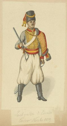 Egypt, 1820-1898. The Vinkhuijzen collection of military uniforms / Egypt. / Egypt, 1820-1898.