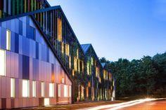 Academie MWD de Dilbeek, diseño de Carlos Arroyo.