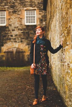 A Clothes Horse: Outfit: Country Manors & British Tweed