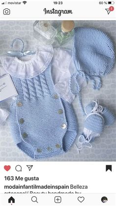 Baby Hat Knitting Patterns Free, Baby Sweater Patterns, Baby Cardigan Knitting Pattern, Baby Knitting Patterns, Baby Patterns, Winter Baby Clothes, Knitted Baby Clothes, Crochet Baby Bibs, Pull Bebe