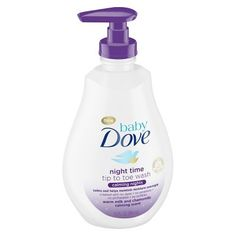 Baby Dove Nighttime Tip to Toe Body Wash Warm Milk & Chamomile - - My list of the most beautiful baby products Soothing Baby, Gentle Baby, Calming, Baby Wind, Baby Sleep Routine, Target Baby, Baby Bath Time, Baby Health, Body Wash