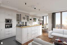 Kuchnia styl Glamour - zdjęcie od EG projekt - Kuchnia - Styl Glamour - EG projekt