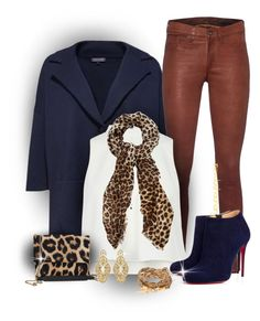"""Falls In"" by revolushaun ❤ liked on Polyvore featuring Tommy Hilfiger, rag & bone, Christian Louboutin, Oasis, Lanvin and Badgley Mischka"