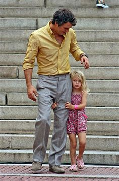 Mark Ruffalo and his daughter :) so cute!