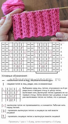 Strickmuster – вязание спицами – Knitting patterns, knitting designs, knitting for beginners. Lace Knitting Patterns, Knitting Stiches, Knitting Charts, Easy Knitting, Loom Knitting, Crochet Stitches, Stitch Patterns, Afghan Patterns, Amigurumi Patterns