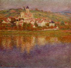 Claude Monet - Vétheuil, Effet rose