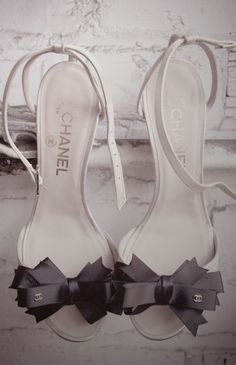 Actually, Emily's style - Chanel bow heels