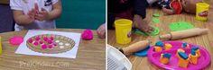 Big list of ideas to do with playdough.