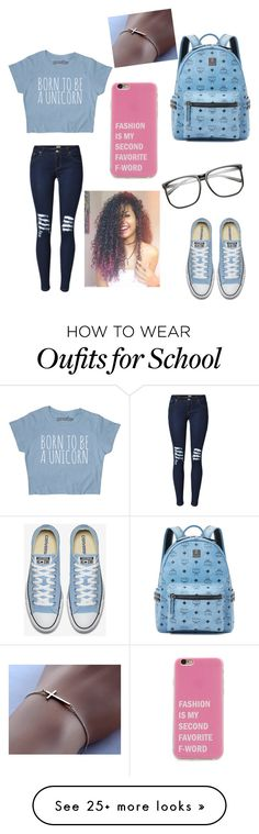 """""""Back 2 school outfit 2016"""" by starrjames on Polyvore featuring MCM"""