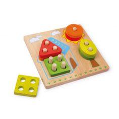 Base Toys vormenspel - Huis