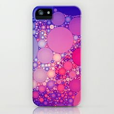 Spring Fever iPhone & iPod Case by Olivia Joy StClaire - $35.00 abstract art, iphone case, samsung galaxy case, phone accessory, fashion accessory, accessory, pink, blue, girly, pattern, graphic design, modern, trendy, spring accessory