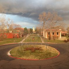 Storms a'brewin over campus (by @14112 via Instagram!)