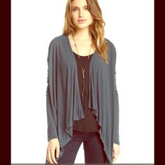 VELVET Cape Cardi NWT BRAND NEW! Soft comfy cozy soft!  Retail $99.  Anthropologie Sweaters Cardigans