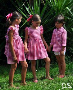 Cute Little Girl Dresses, Cute Little Girls, Cute Dresses, Girls Dresses, Boys And Girls Clothes, Kids Girls, Teen Fashion, Fashion Outfits, Maid Dress