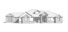 Westridge - Traditional style house plan - Walker Home Design