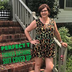 LuLaRoe Cover UP--upcyle your Perfect T into a tank top or cover up! Directions are on my blog. www.ThePatternedElephant.com