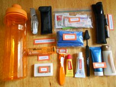Survival kits for the homeless - all of these items are placed within the bottle for easy distribution.  Check us out at http://igg.me/at/hikersforhomeless/x/3506