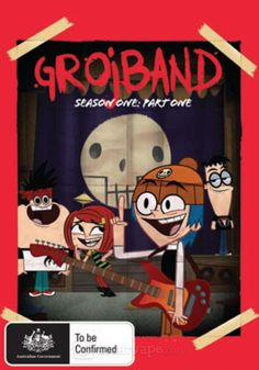 Grojband - Season One: Part One DVD Kids Comedy, Three Best Friends, Fade To Black, Rock Legends, Animation Series, Storyboard, Cartoon Network, Random Things, Musicals