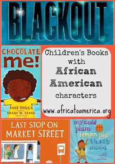 A list of eight books featuring African American protagonists in a positive light.