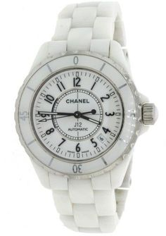 Chanel J12 H0970 White Ceramic & Stainless Steel Automatic 38mm Unisex Watch