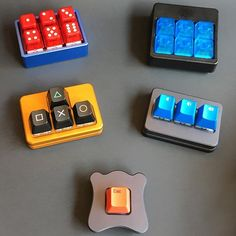 micros for macros #mechanicalkeyboard #keypad #keycaps #clickclack