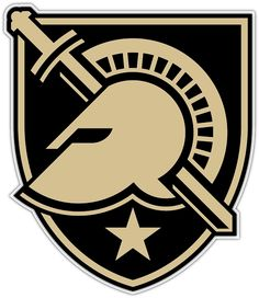 Army Black Knights Primary Logo on Chris Creamer's Sports Logos Page - SportsLogos. A virtual museum of sports logos, uniforms and historical items. Currently over on display for your viewing pleasure