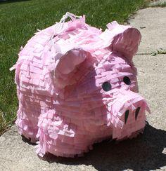 Pig Pinata! Luis can make it.