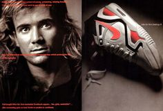 Andre Agassi. Nike Air Tech Challenge II.