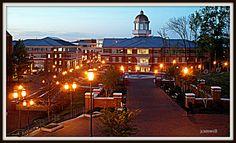 campus of UNCC, Charlotte, NC