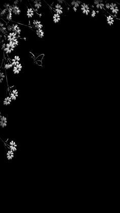 45 Pretty Wallpapers For iPhone - Wallpaper Dark Wallpaper Iphone, Black Background Wallpaper, Hd Phone Wallpapers, Flower Phone Wallpaper, Simple Wallpapers, Butterfly Wallpaper, Cellphone Wallpaper, Colorful Wallpaper, Galaxy Wallpaper